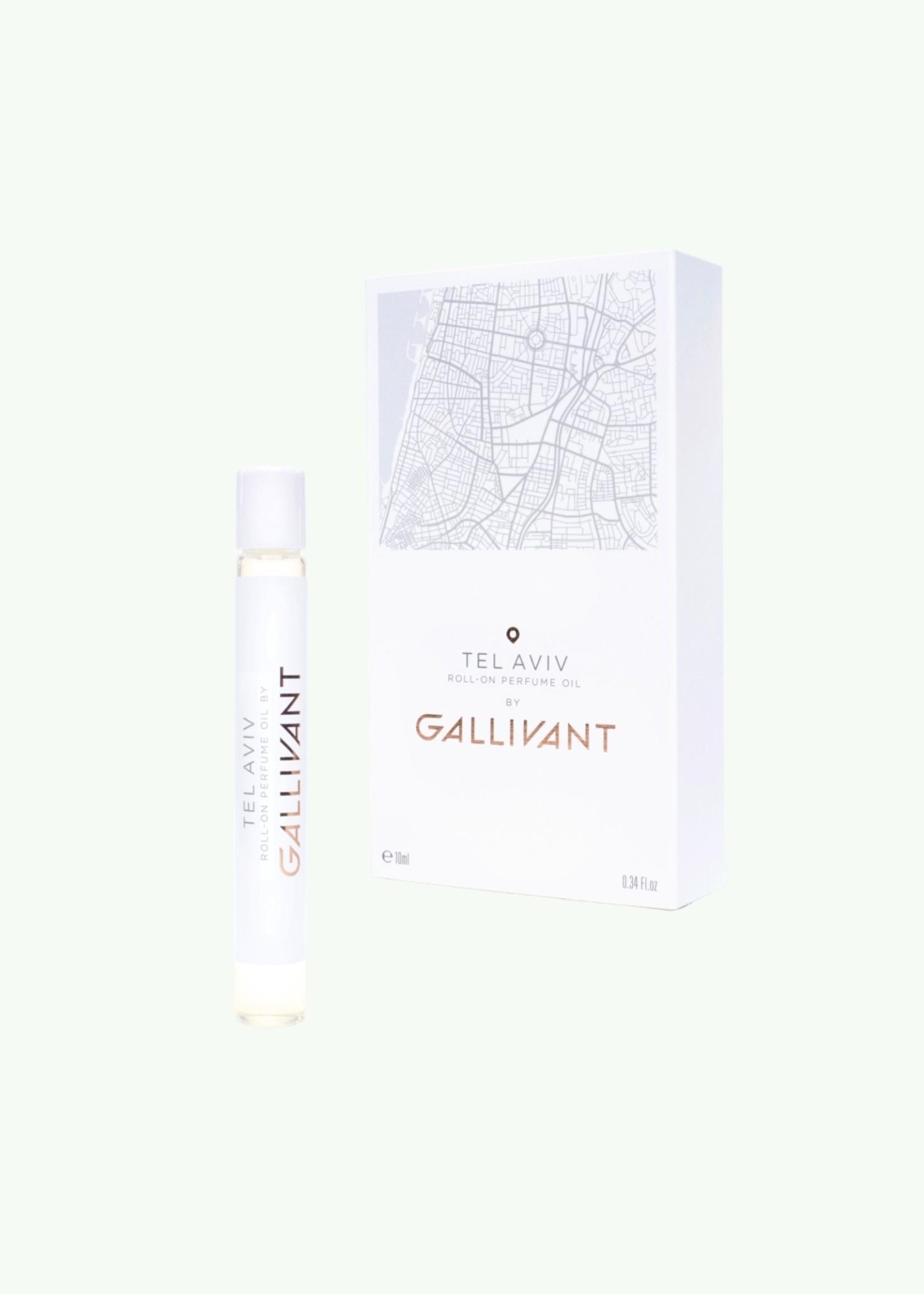 Gallivant Gallivant - Tel Aviv - Roll On Huile de Parfum 10 ml