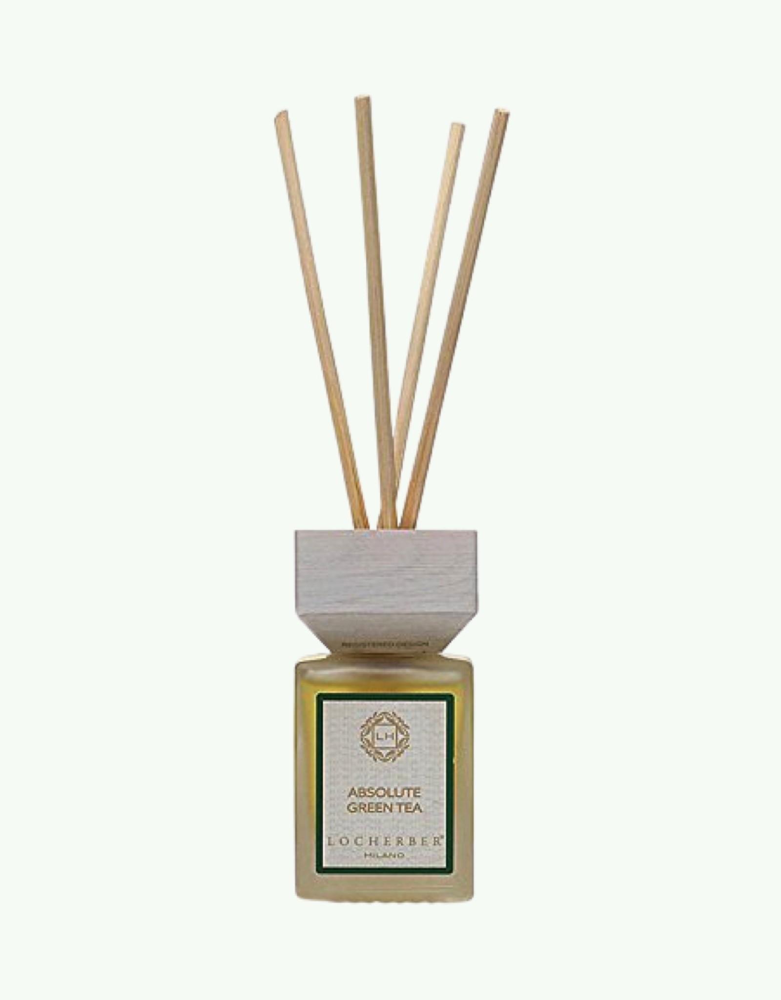 Locherber Locherber - Absolute Green Tea - Diffuser met Geurstokjes
