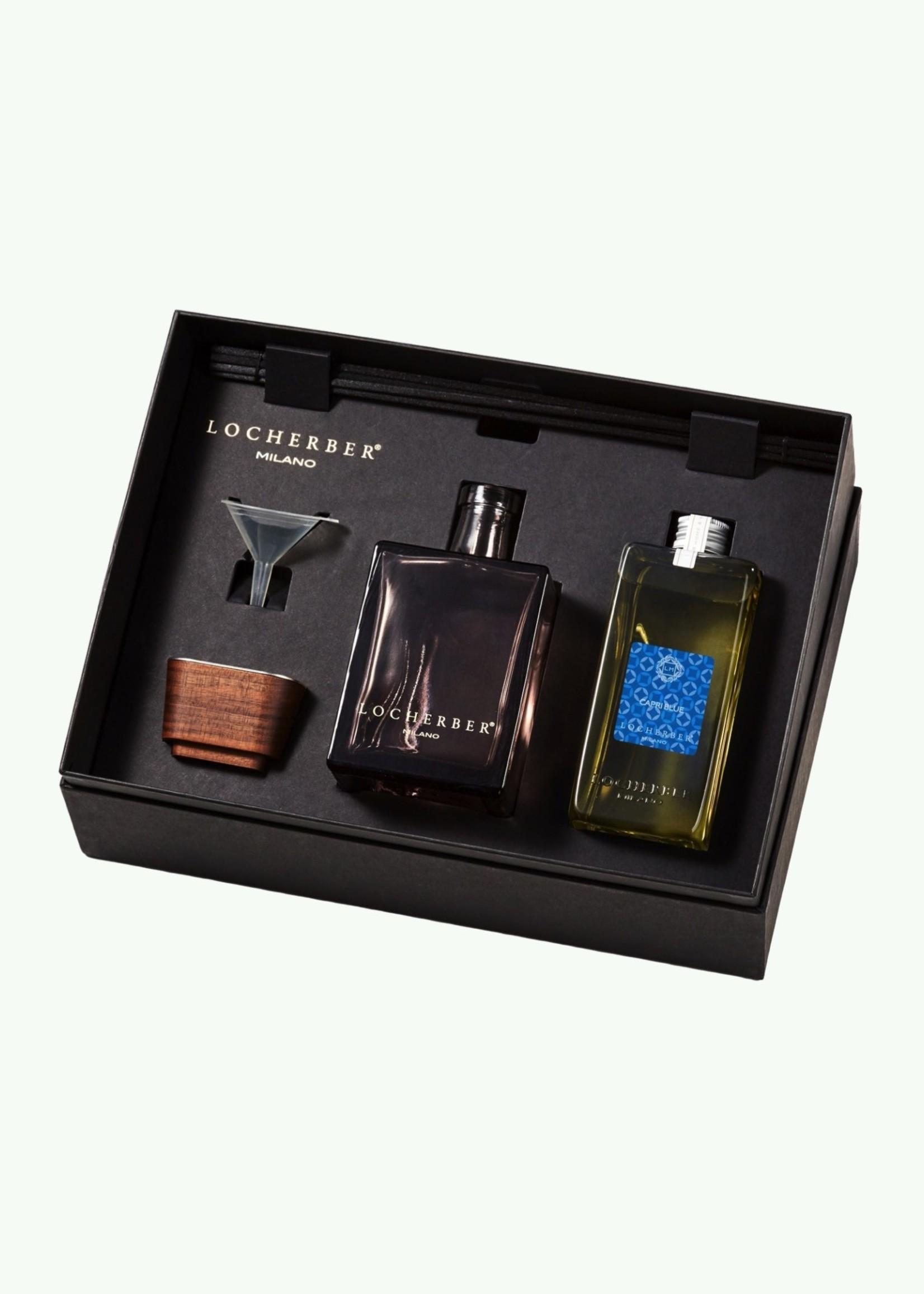 Locherber Locherber - Capri Blue - Set Cadeau Diffuseur