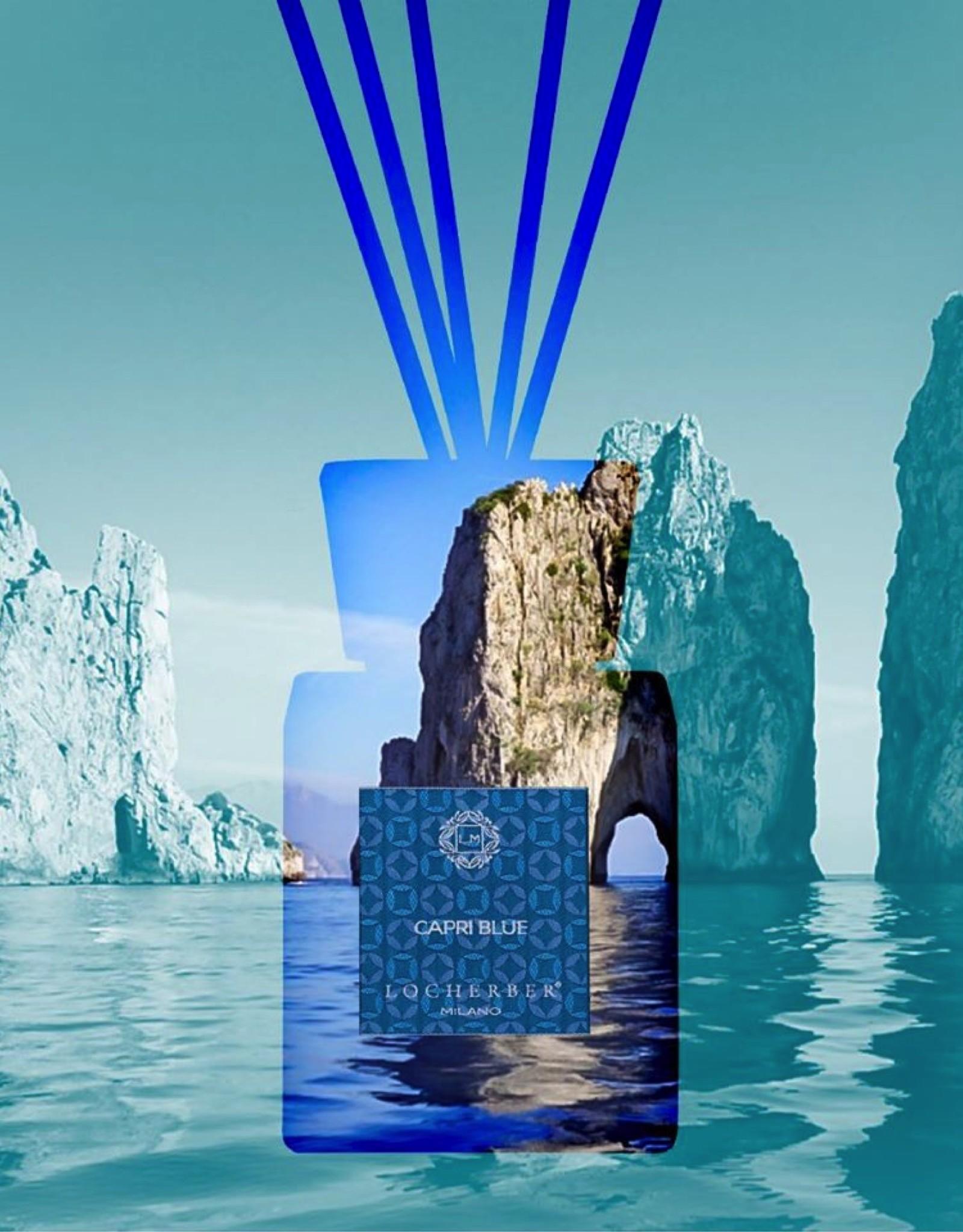 Locherber Locherber - Capri Blue - Diffuser Cadeau Set