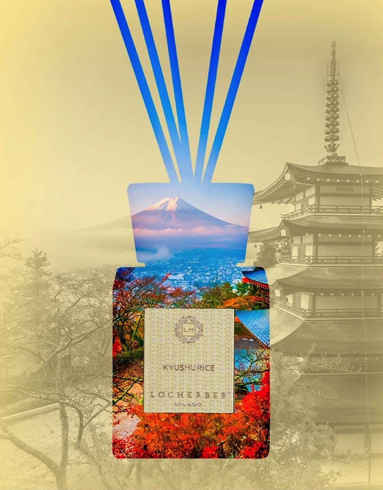 Locherber Locherber Milano - Kyushu Rice - Diffuser Gift Box