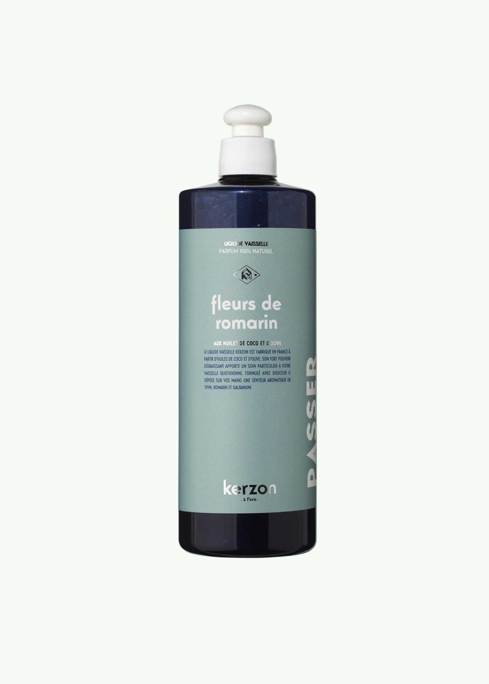 Kerzon Kerzon - Fleurs de Romarin - Liquide vaisselle - 500 ml