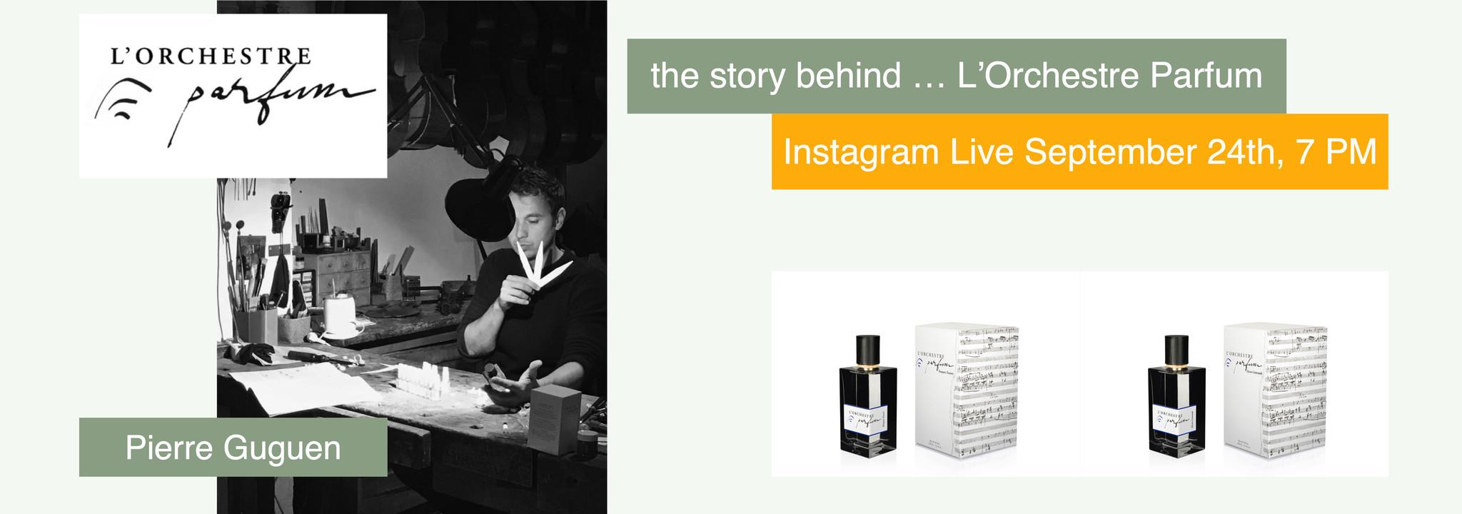 L'histoire derrière ... L'Orchestre Parfum
