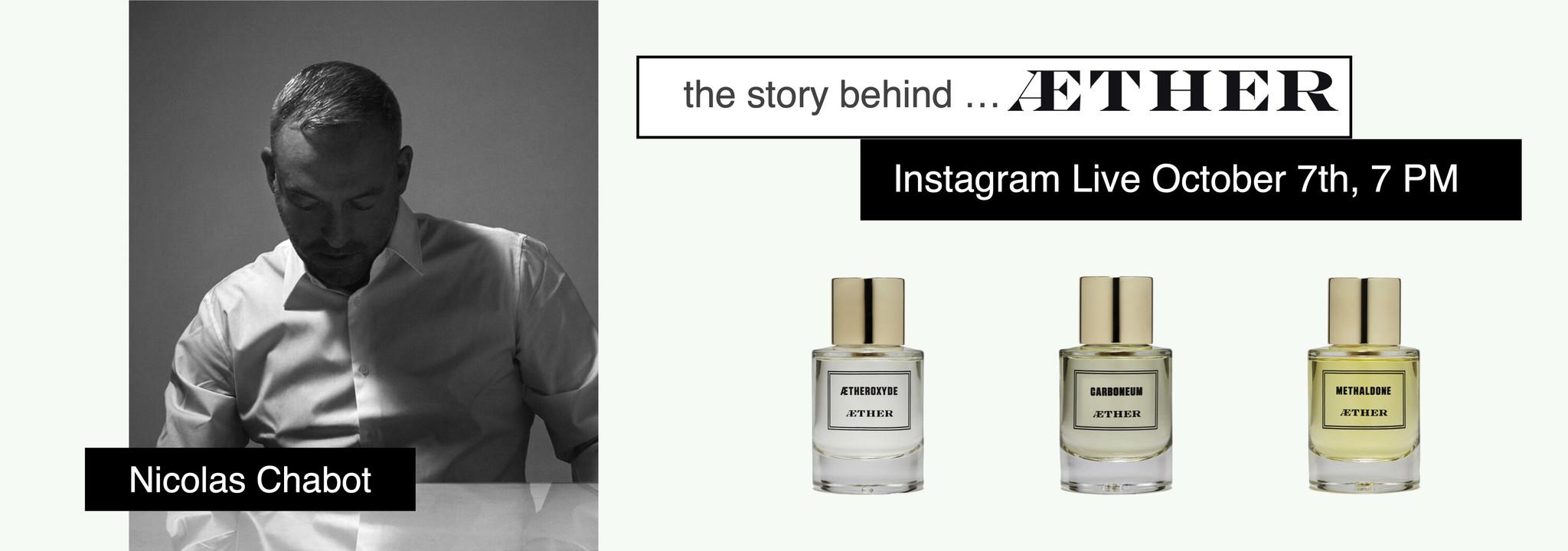 l'histoire derrière ... AETHER