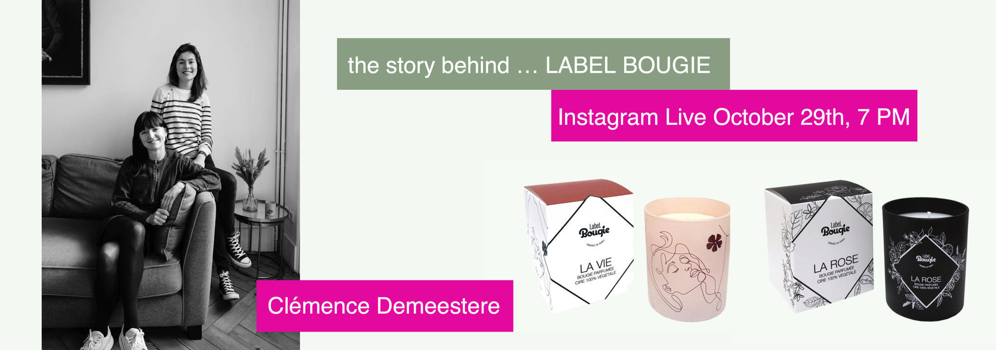 The story behind ... LABEL BOUGIE