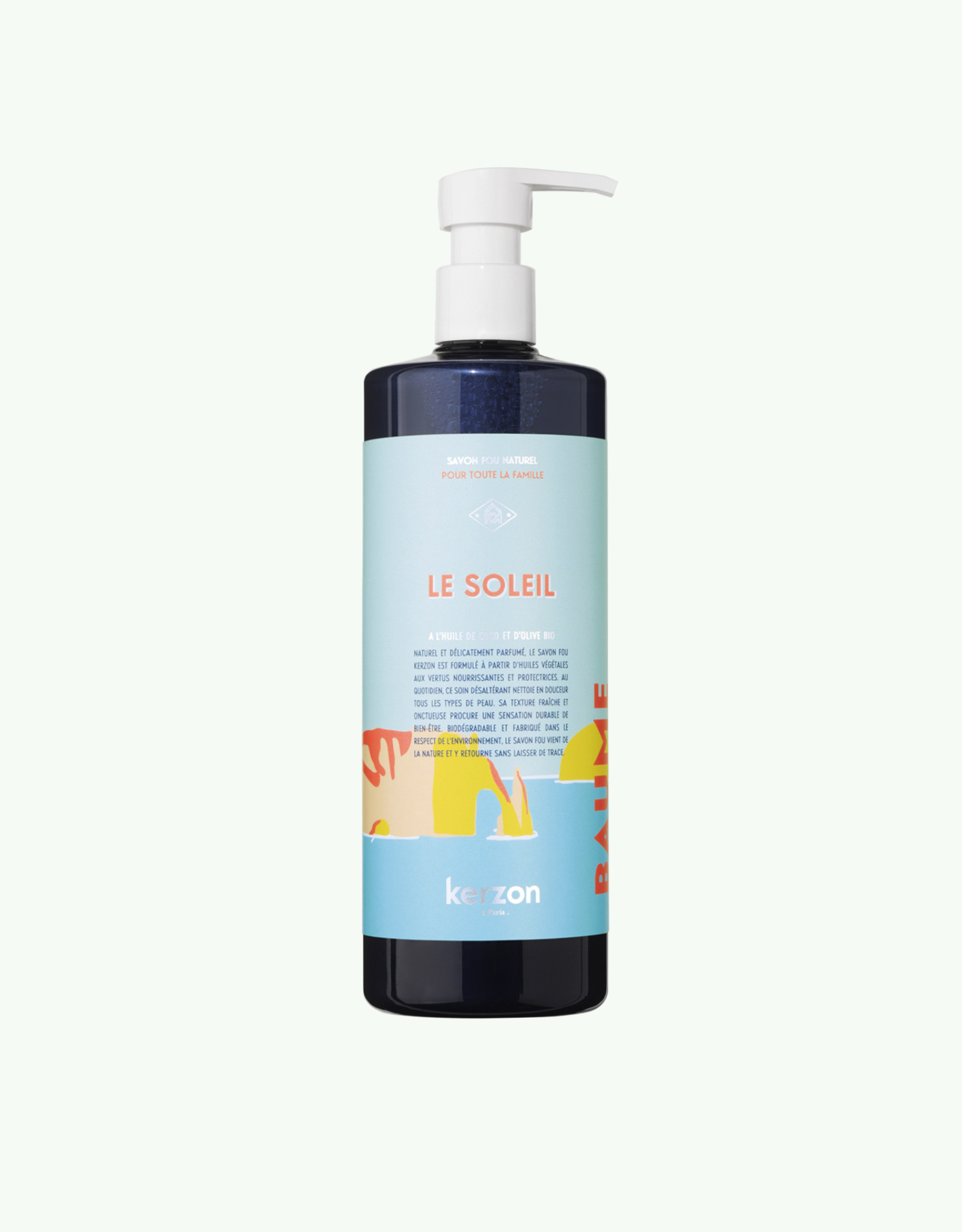 Kerzon Kerzon - Le Soleil Liquid Soap + Graines de Carotte Dishwashing Soap