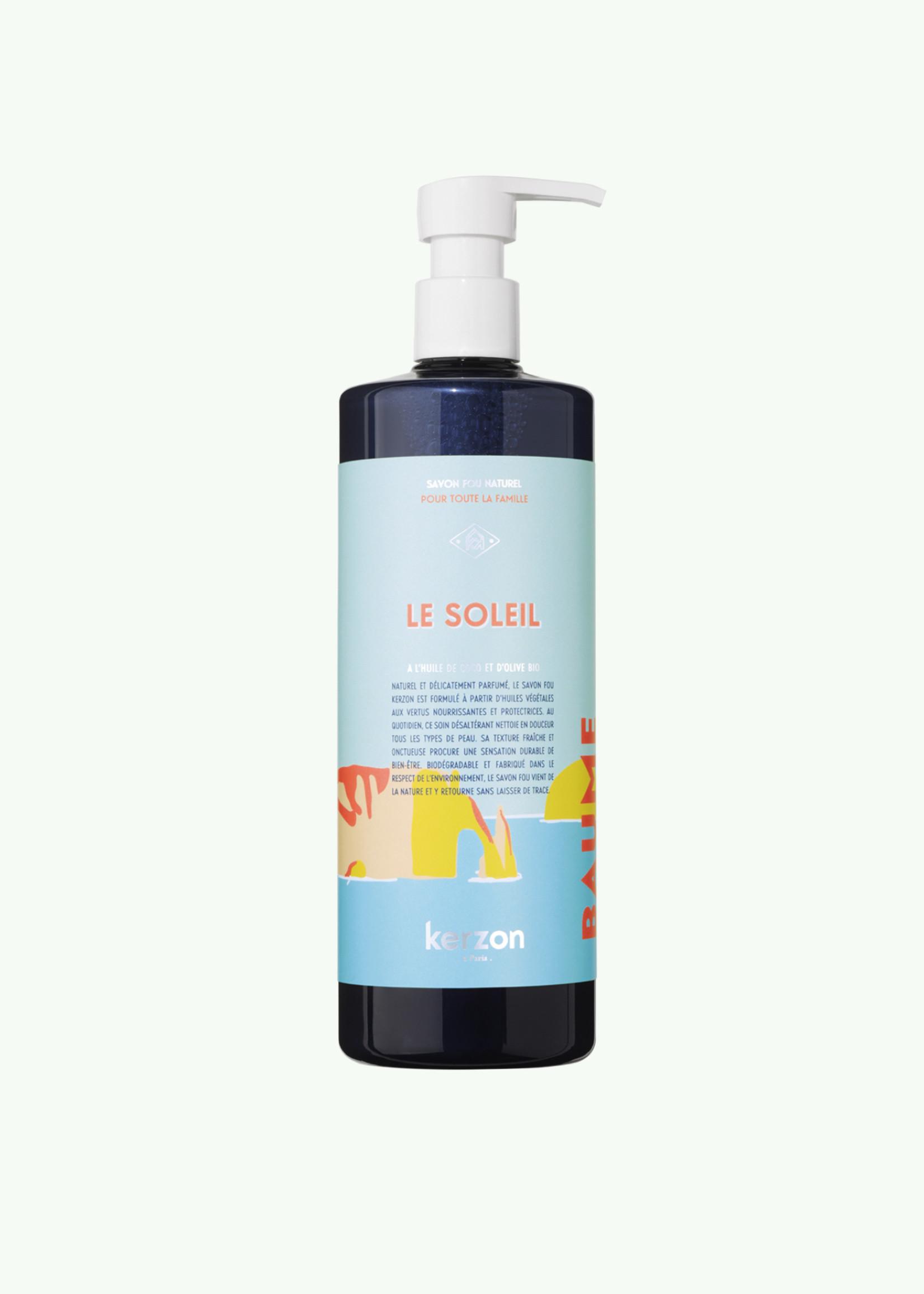 Kerzon Kerzon - Le Soleil Savon Liquide + Graines de Carotte Liquide Vaisselle