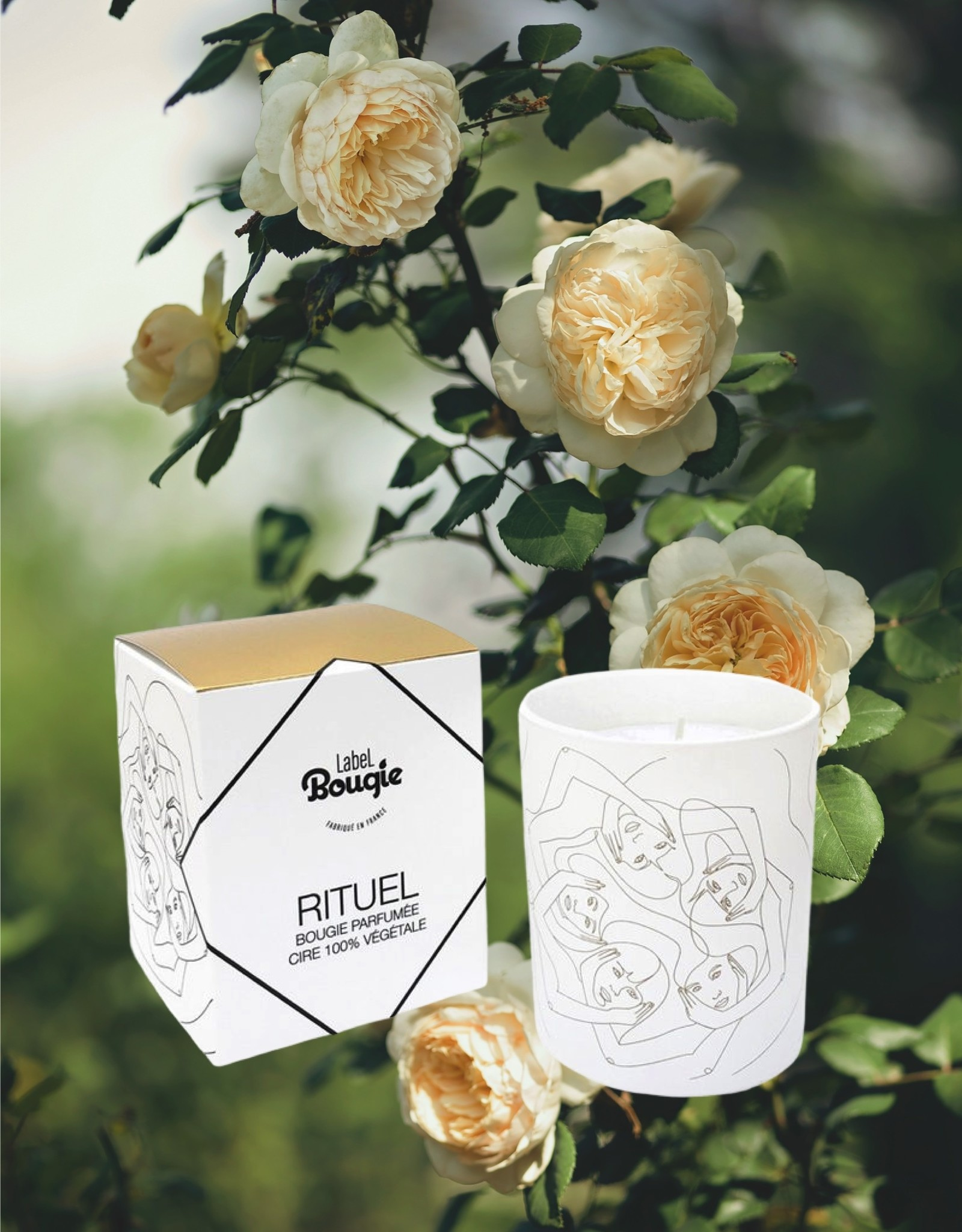 Label Bougie Trio Candles & Wick Cutter - Les Elixirs - Label Bougie