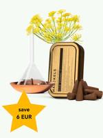 Haeckels Wild Fennel Incense & Burner - Haeckels