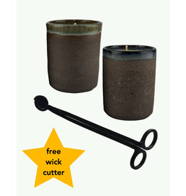 Aer Duo Candles & Wick Cutter - AER
