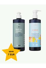 Kerzon Kerzon - Le Soleil Vloeibare zeep + Fleurs de Romarin Vaatwasmiddel