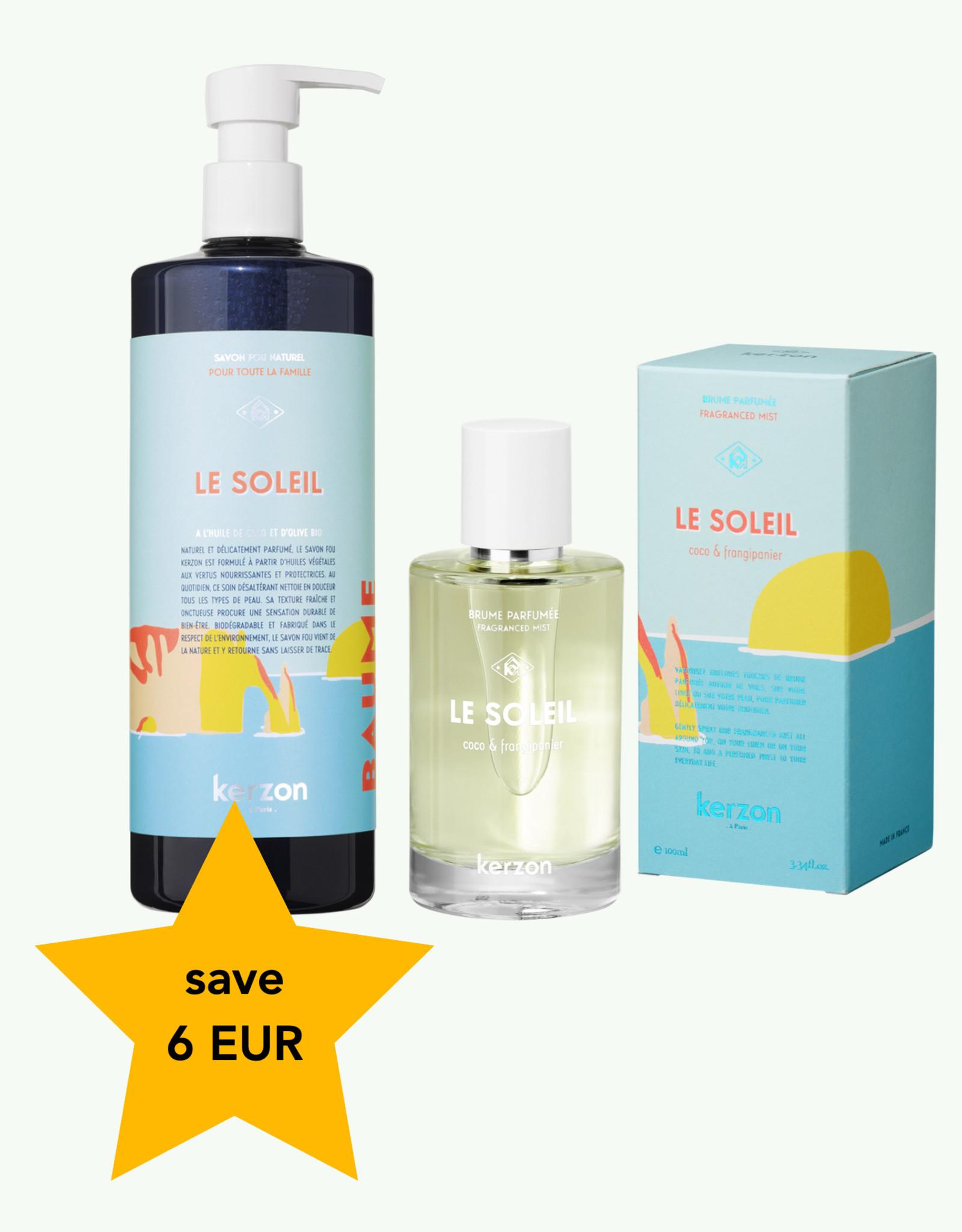 Kerzon Duo Le Soleil Scented Mist & Liquid Soap - Kerzon