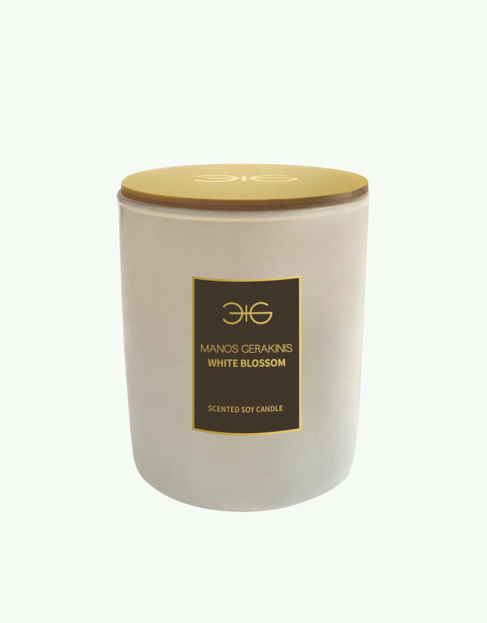 Manos Gerakinis Manos Gerakinis - White Blossom - Geurkaars 145 gr