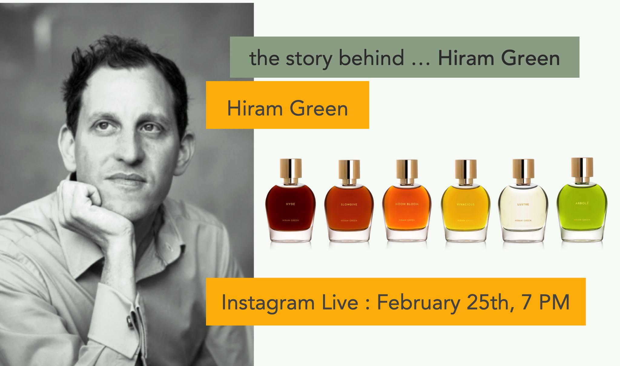 l'histoire derrière ... Hiram Green