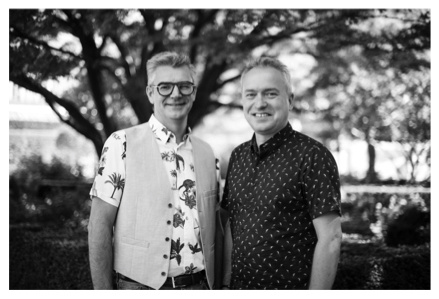 Kurt Stragier and Stéphane Cadron