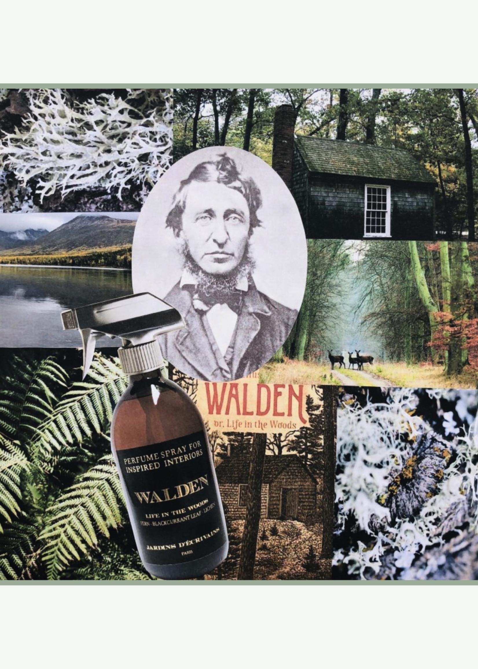Jardins d'ecrivains Jardins d'écrivains - Walden - Interieurparfum