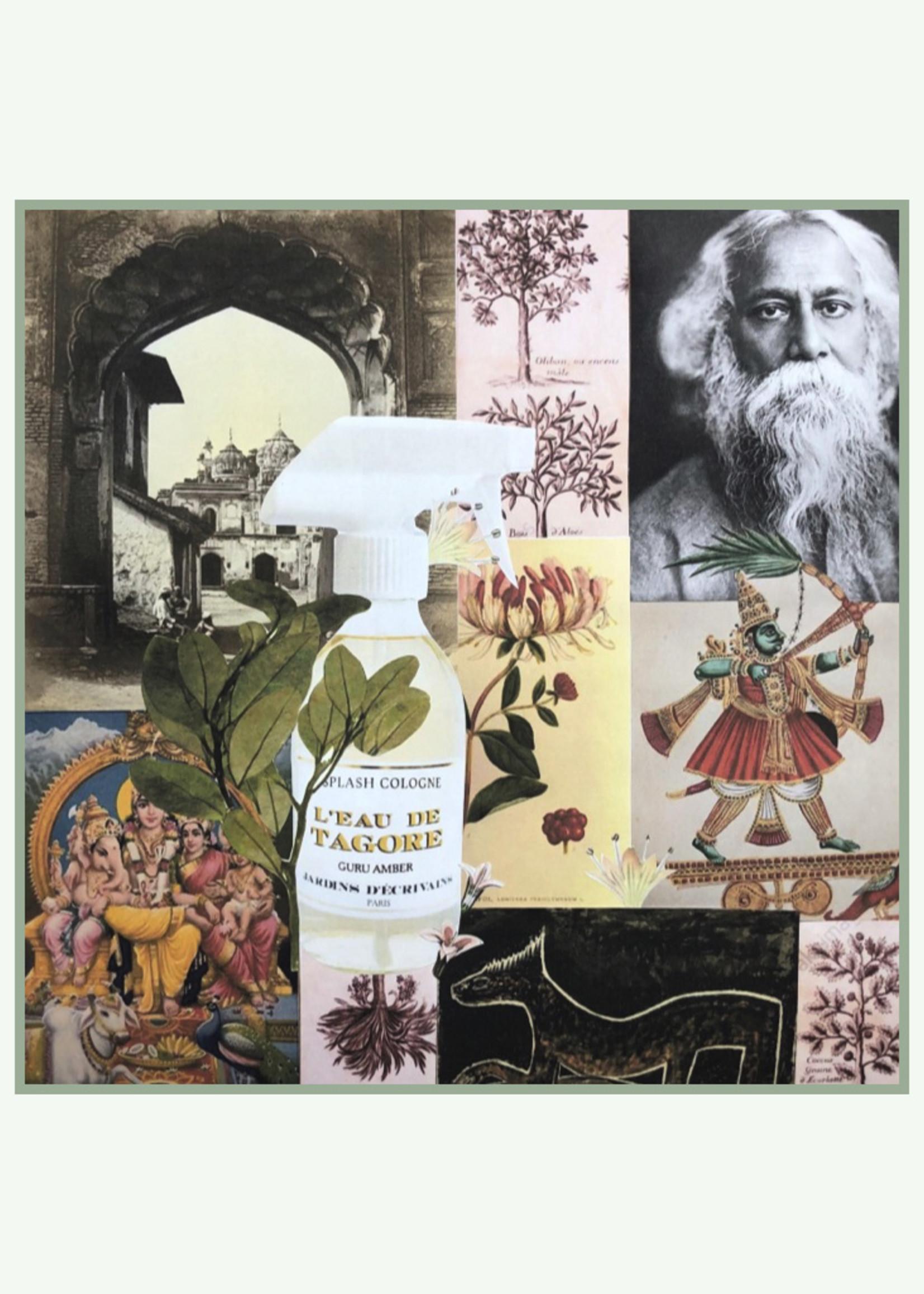 Jardins d'ecrivains Jardins d'écrivains - L'eau de Tagore - Splash Cologne