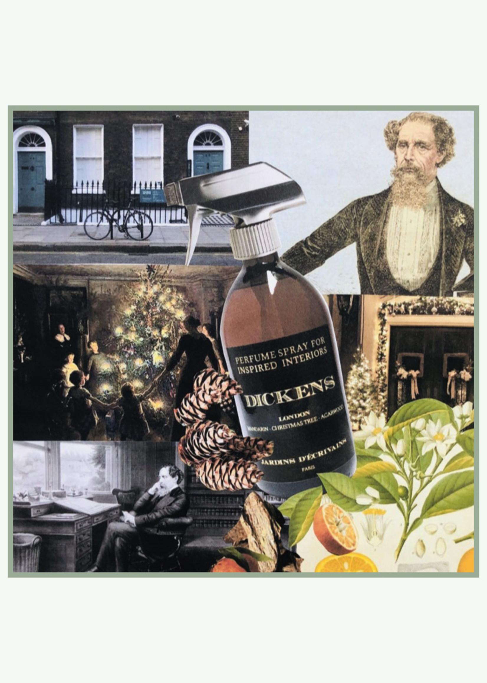 Jardins d'ecrivains Jardins d'écrivains - Dickens - Home spray