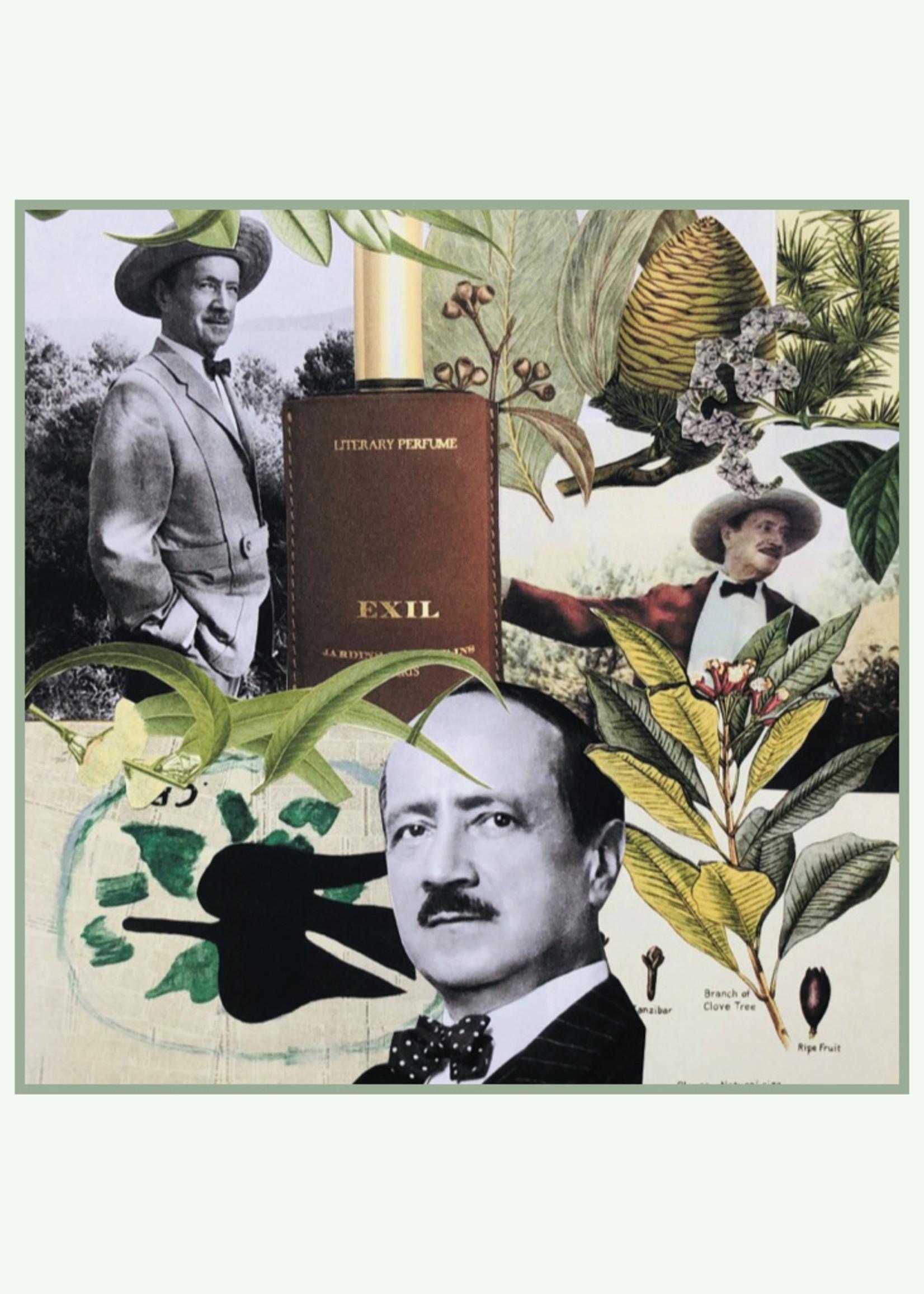 Jardins d'ecrivains Jardins d'écrivains - Exil - Eau de Parfum