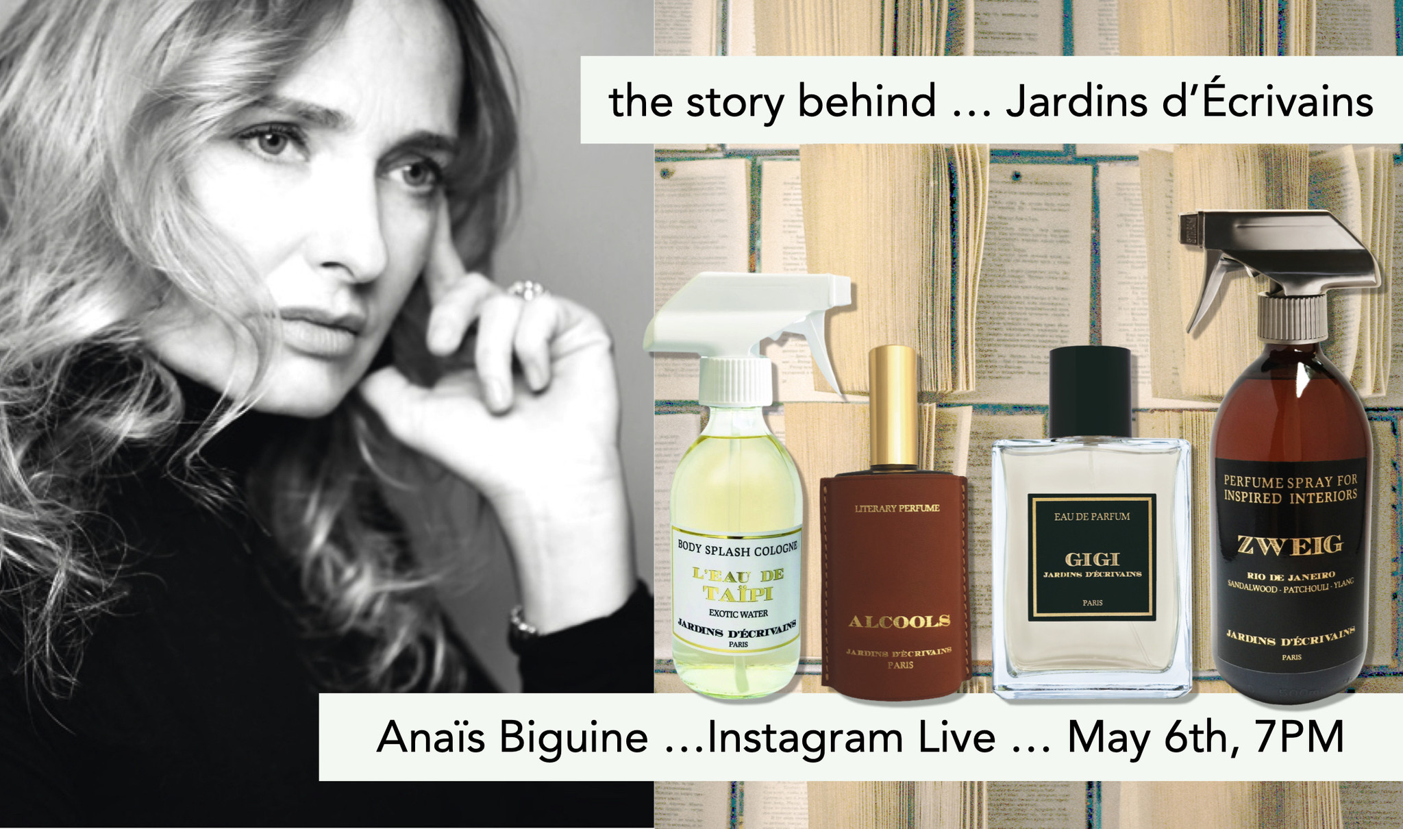 the story behind ... Jardins d'Écrivains