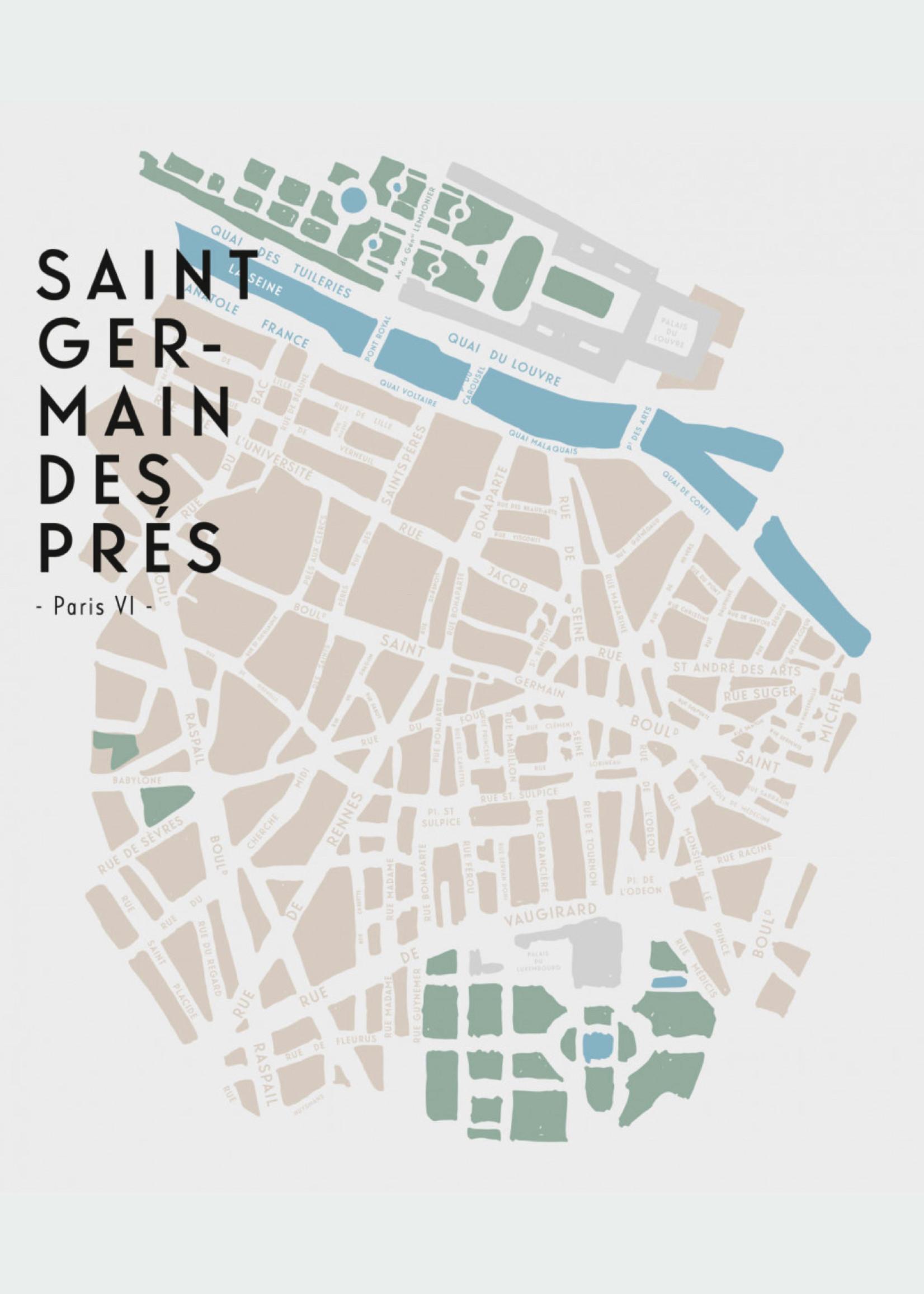 Kerzon Kerzon - Saint Germain des Près - Scented Candle 190 gr