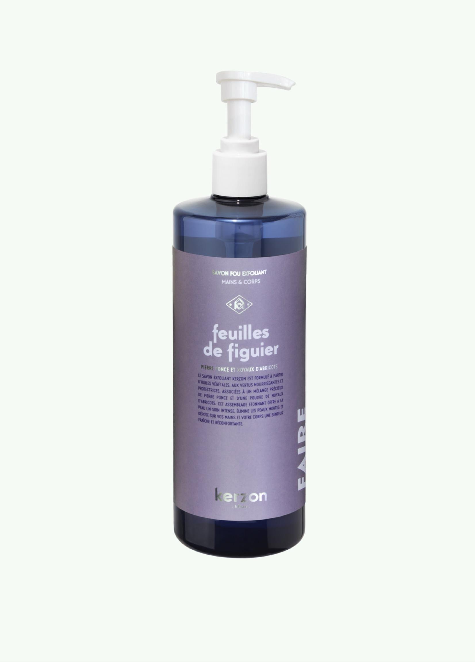 Kerzon Kerzon - Exfoliating Soap - Feuilles de Figuier