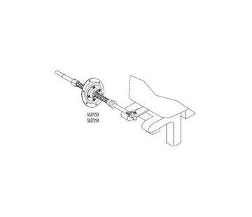 Teleflex Motorbun 90 Graden Montageset