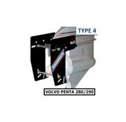 Ruddersafe Type 4 Voor Volvo Penta 280/290