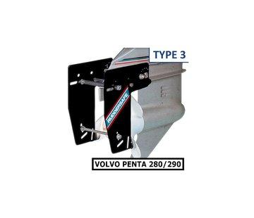 Ruddersafe Type 3 Voor Volvo Penta 280/290