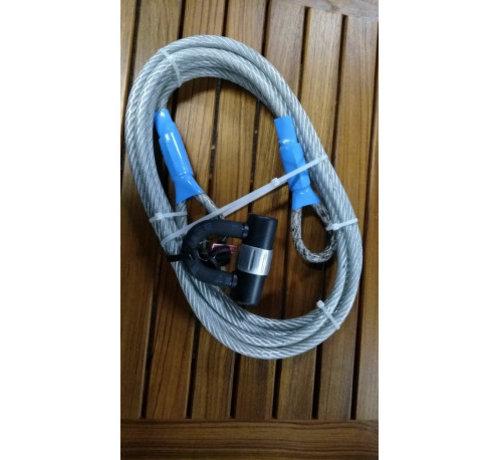 Slot met kabel 5m