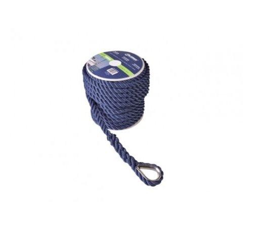 Talamex Ankerlijn Polyester 12mm 30meter Navy