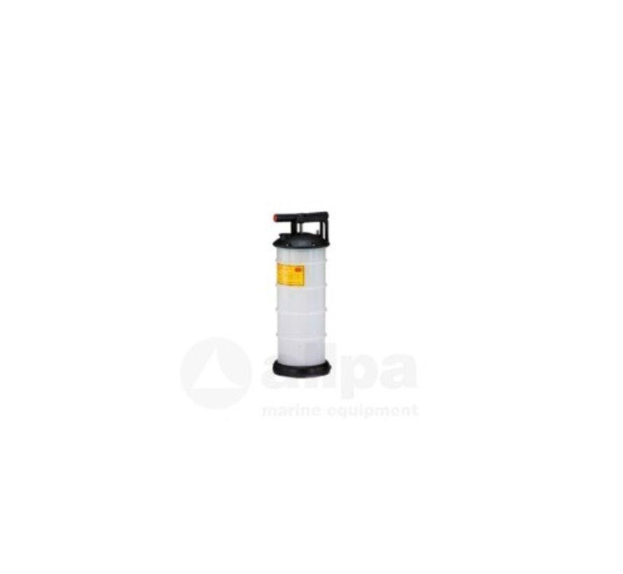 Olie- & Vloeistofafzuigpomp 4 liter