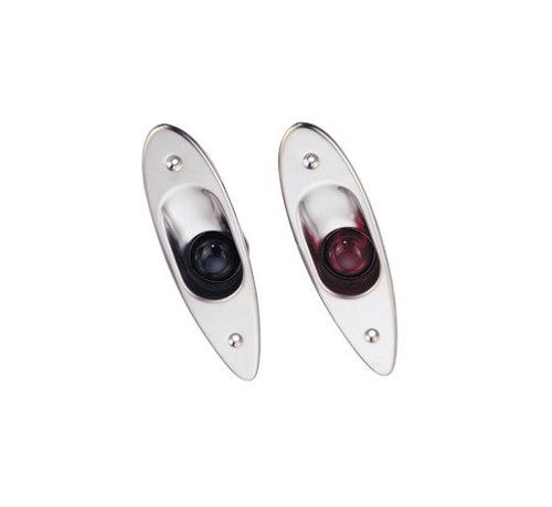 Allpa Allpa LED Positielantaarnset voor bak- en stuurboord ( zij-inbouw )