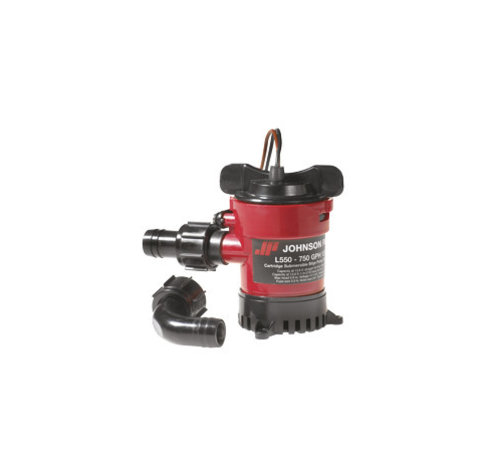 Johnson Pump L-serie Bilgepomp (cartridge type) L450, 12V/2,5A, 49l/min