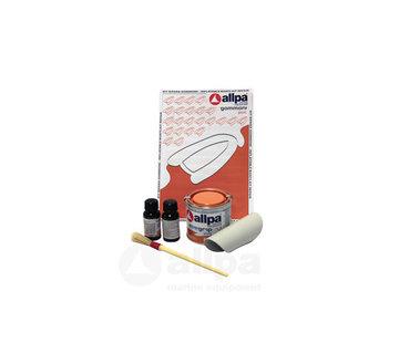 Allpa 2-Componenten reparatieset voor PVC boten, lichtgrijs