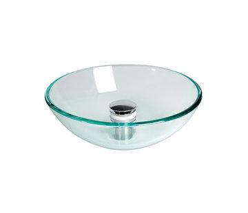 Allpa Spoelbakken rond glas Ø280x110mm