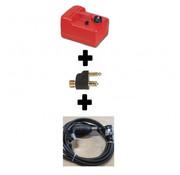 Exalto Brandstoftank met pompbalset 2 x fuelconnector