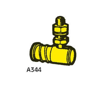Allpa Snelkoppeling  baljoint A344 voor Kabels met M10