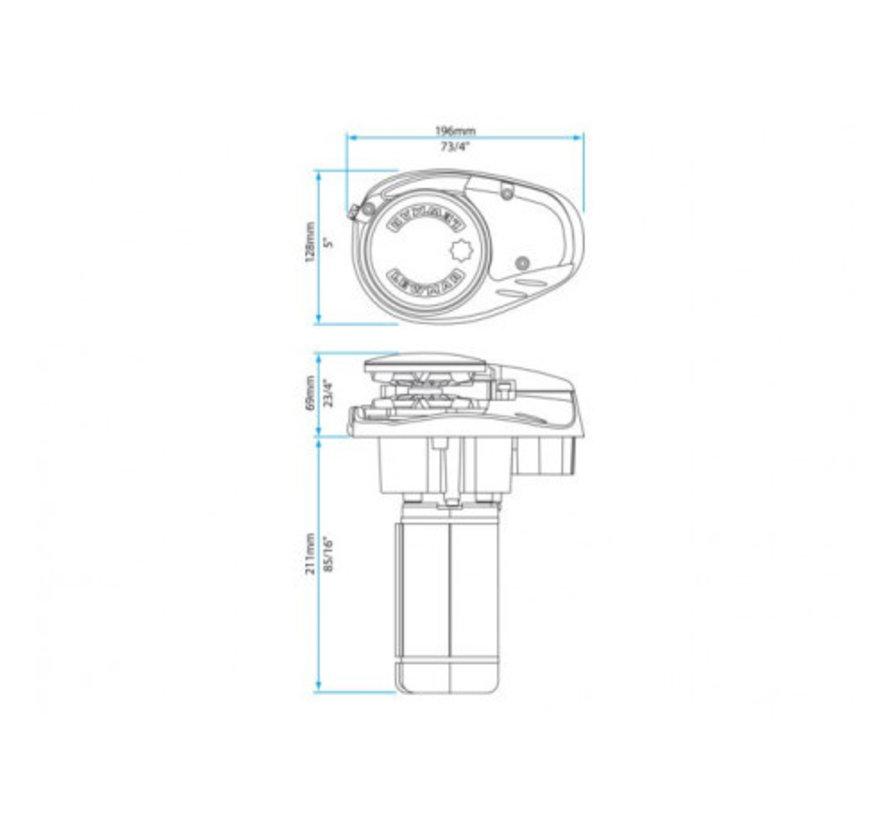 6670011108-312 ankerlier V700 12V 6/7mm kit