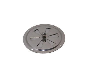Allpa Ventilatierozet RVS met draaischijf