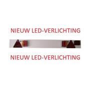 VERLICHTINGSBALK LED-VERLICHTING + MISTLICHT EN 9 METER KABEL