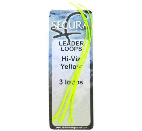 Leader Loops Hi-Viz Geel