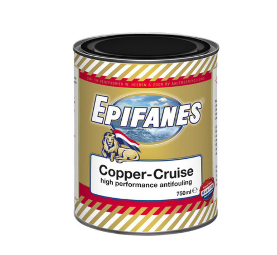 Copper-Cruise High Performance Antifouling 0,75 Liter