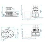Lewmar Ankerlier V1 go ff 12V 001 kit