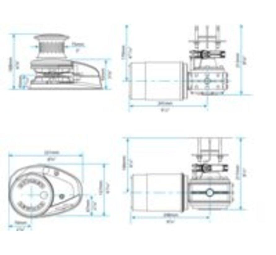 Ankerlier V2 go ff 12V 001 kit
