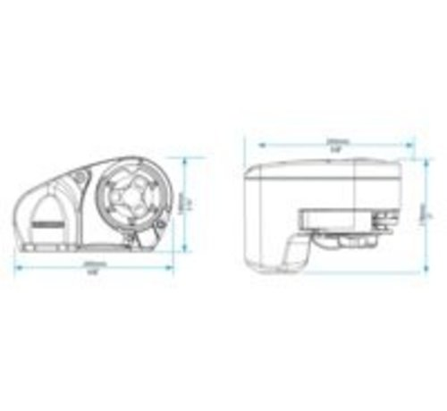 Lewmar Ankerlier pro-fish 700 6/7mm kit