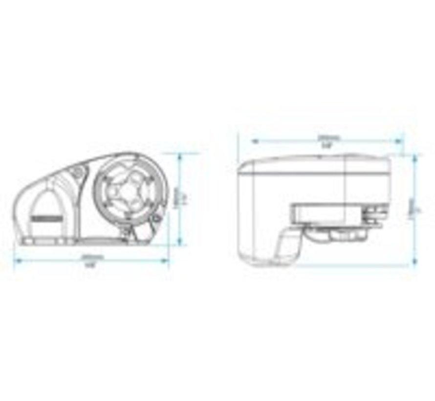 Ankerlier pro-fish 700 6/7mm kit