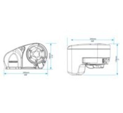 Lewmar Ankerlier pro-fish 1000 8mm kit
