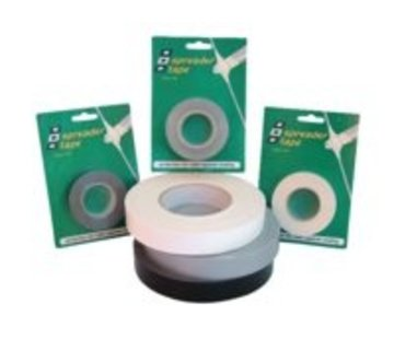 PSP Spreader Tape ZWART 25MMX10M