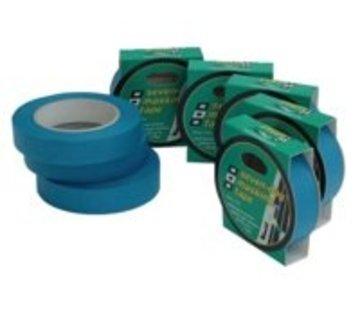 PSP 7day masking Tape blauw 25mm 25m